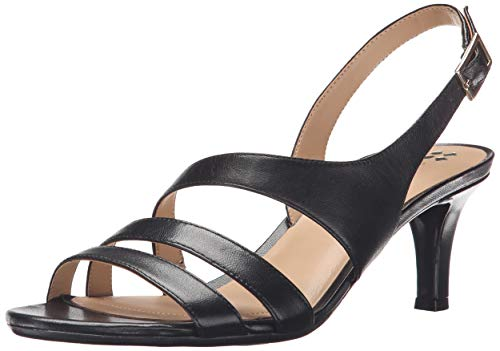 Naturalizer Women's Taimi Dress Sandal, Black, 9.5 M US