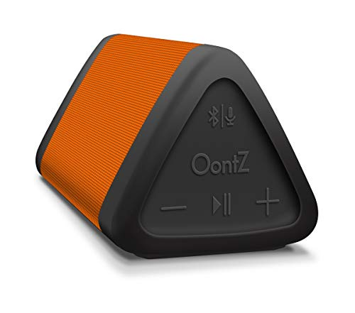 OontZ Angle 3 (3rd Gen) Portable Bluetooth Speaker, Louder Crystal Clear Stereo Sound, Rich Bass, 100 Ft Wireless Speaker Range, IPX5, Bluetooth Speakers by Cambridge SoundWorks (Orange) by Cambridge Soundworks (Image #6)