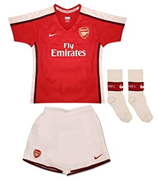 6c4a1b2ce Nike Boy s Arsenal Home Kit - Red