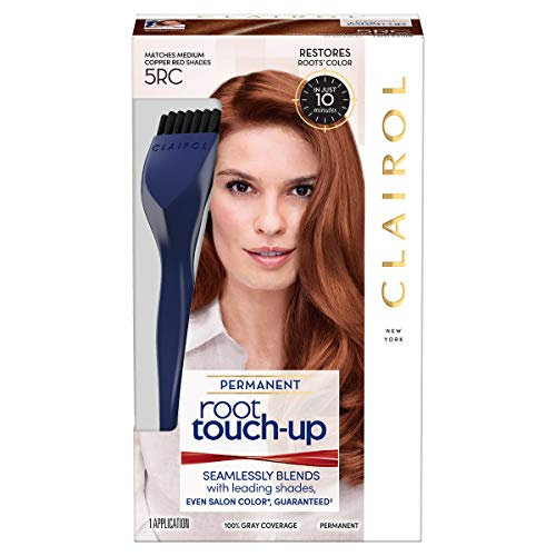 Clairol Nice N' Easy Root Touch-Up Hair Coloring Tools, 5rc Medium Copper Red