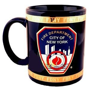 FDNY Coffee Mug Officially Licensed by The New York Fire ()