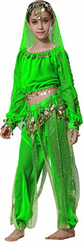 Kids Belly Dance Harem Pants 12 14 16 (Teenage Girl Princess Halloween Costumes)