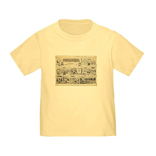 CafePress 1950'S Baseball Cute Toddler T-Shirt, 100% Cotton Daffodil - Daffodil 1950