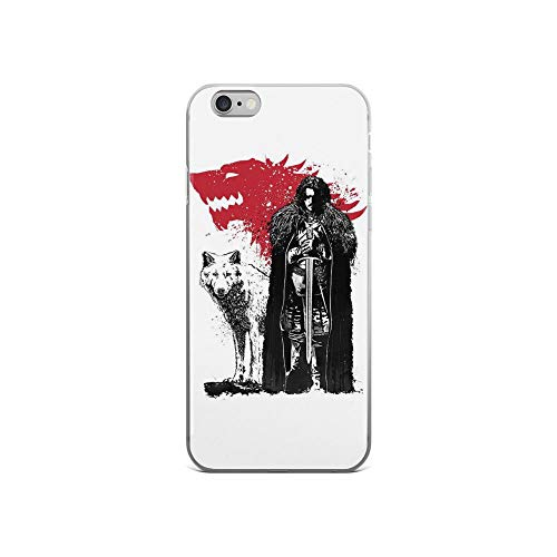 - iPhone 6/6s Pure Clear Case Cases Cover The King and The Wolf