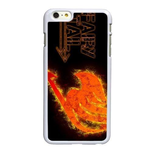 U6O92 Fairy Tail D7N8AE coque iPhone 6 Plus de 5,5 pouces cas de couverture de téléphone portable de coque KM9KCA8QS blancs