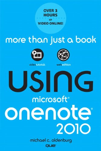 Using Microsoft OneNote 2010 | EBooklibrary - Download and