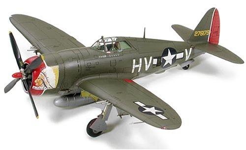 タミヤ 1/72 ウォーバードコレクション No.69 アメリカ陸軍 リパブリック P-47D サンダーボルト レイザーバック プラモデル 60769