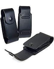 TUFF LUV echt lederen hoes tas voor Leatherman Charge/Charge TTI - WP951 - zwart