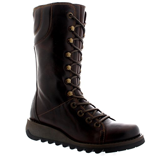FLY London Ster768fly, Botas para Mujer Marrón (Dk. Brown)