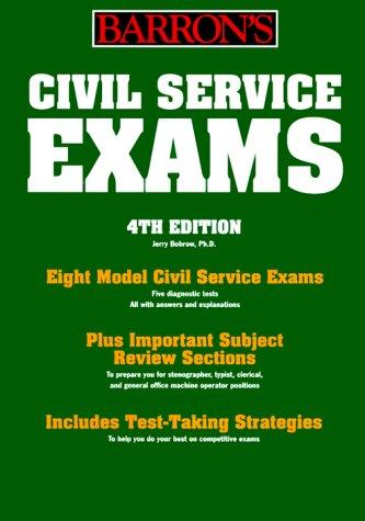 Barron's Civil Service Examination: For Stenographer, Typist, Clerk, and Office Machine Operator (BARRON'S HOW TO PREPARE FOR THE CIVIL SERVICE EXAMINATIONS)