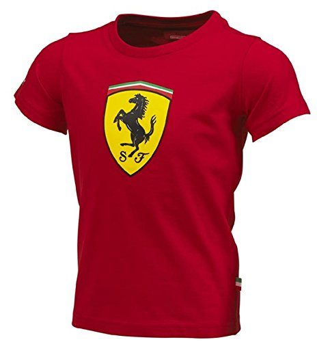 outlet for sale quite nice big collection Ferrari Kids Red Shield Tee Shirt