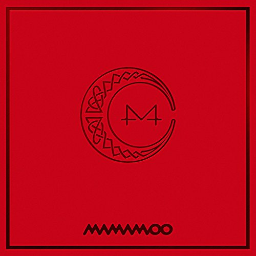 Kakao M MAMAMOO - RED MOON (7th Mini Album) CD+Booklet+Photocard+Folded Poster