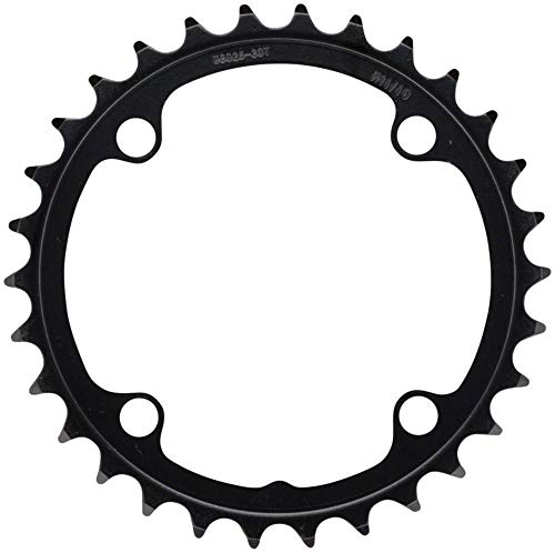 (Full Speed Ahead FSA Omega Steel Road Bicycle Chainring - 90x30T Black N11 WB025-370-0050021140)