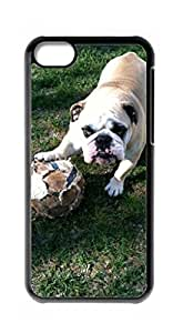 HeartCase Hard Case for Apple iPhone 5C ( Bulldog Dog ) by icecream design