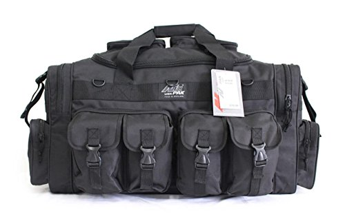 "Nexpak 30"" Tactical Military Molle Gear Shoulder Strap Duffle Range Bag TF130 BK Black"