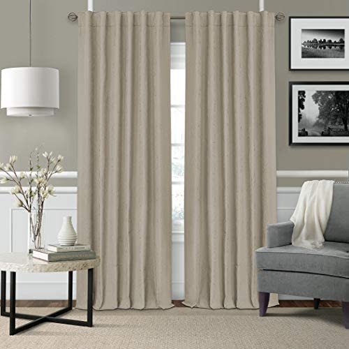 Elrene Home Fashions Elrene Leila Matelasse Single Blackout Window Curtain Panel