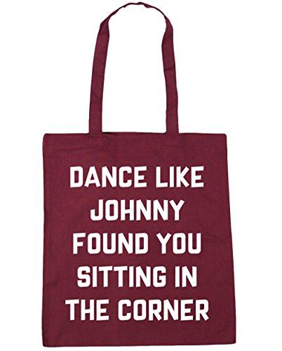 Ballo Hippowarehouse Come Johnny Ti Trovo Seduto Nellangolo Borsa Da Palestra Borsa Da Spiaggia 42cm X38cm, 10 Litri - Bordeaux, Taglia Unica
