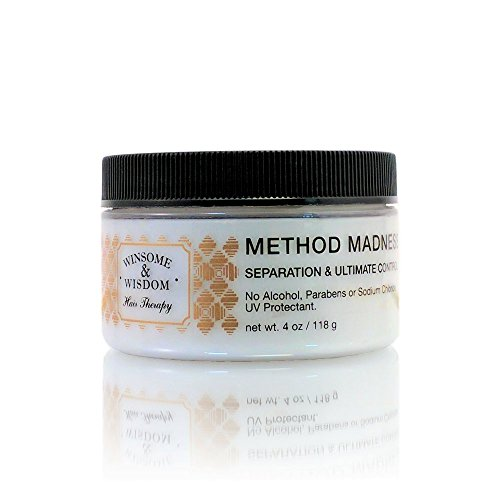 Method-Madness-4-Oz-Jar-Hair-Paste-Texturizer-Styling-For-Women-Men-Kids-Texture-Anti-Frizz-Cream-Balm-Soft-Wax-No-Alcohol-Without-Parabens-UV-Protection-Flexible-Hold-Cruelty-Free-Hair-Care-Products