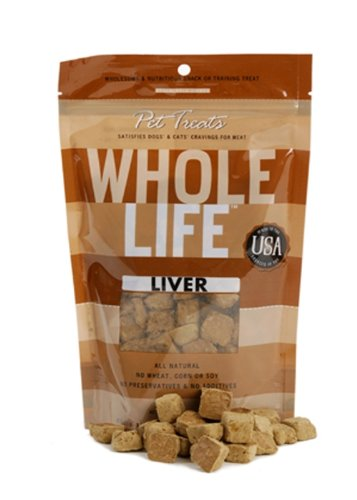 Whole Life Pet Pure Meat All Natural Freeze Dried Beef Liver Treats 4 oz, My Pet Supplies