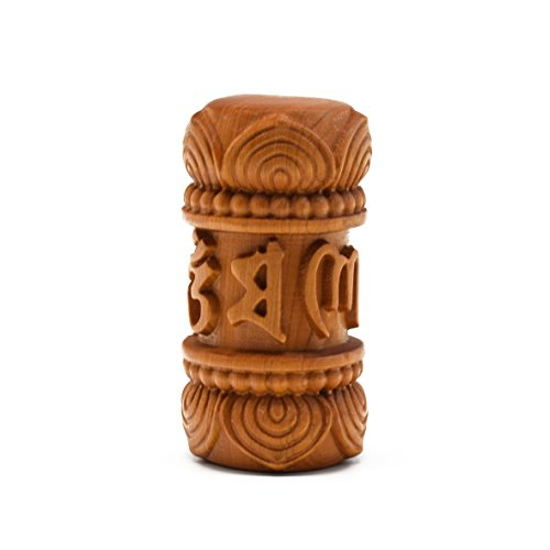 Rel Goods Natural Hand Pieces Thuja Sutchuenensis Wood Statue Hand Engraving Carved Figurine China Scuplture Plaster (Om mani padme (Couple Costumes Halloween Pinterest)