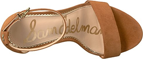 Sam Edelman Women's Yaro Luggage Kid Suede Leather 9 W US