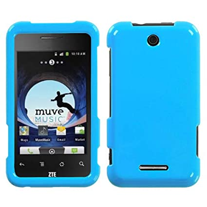 Amazoncom Mybat Natural Turquoise Phone Protector Cover For Zte