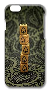 Best iPhone 6 Cases, Stack Of Dice wife PC Hard Case New Cover for Apple iPhone 6 (4.7 INCH) - Design iPhone 6 Case because very &hong hong customize