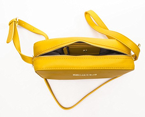 Nicekicks Precio Barato Descuento Del 100% Original Borsa Donna levanto Saffiano Cross-Body Yellow Muchos Tipos De Precio Barato Sitio Oficial De Precio Barato Comprar Barato Cómoda aF61dQdjEE