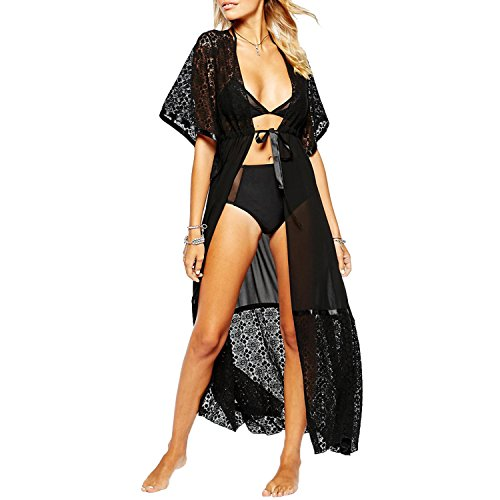 Collection Sheer Swimsuit Cover Up Front