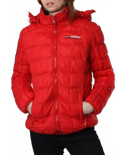 GEOGRAPHICAL NORWAY chaqueta mujer barbara rojo - mujer - L ...