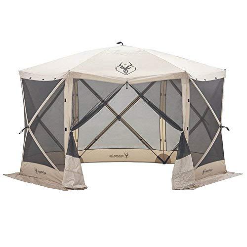 Gazelle Tents 21500 G6 Pop-Up Portable 6-Sided Hub Gazebo/Screen Tent, Easy Instant Set Up in 60 Seconds (Portable Gazebo)