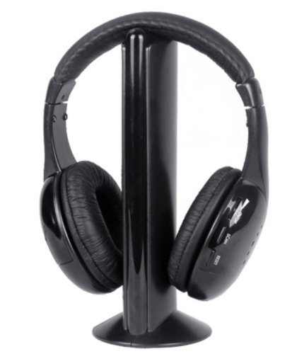 184fccc4fb3 Intex Roaming Wireless Over-Ear Headphones (Black): Amazon.in: Computers &  Accessories