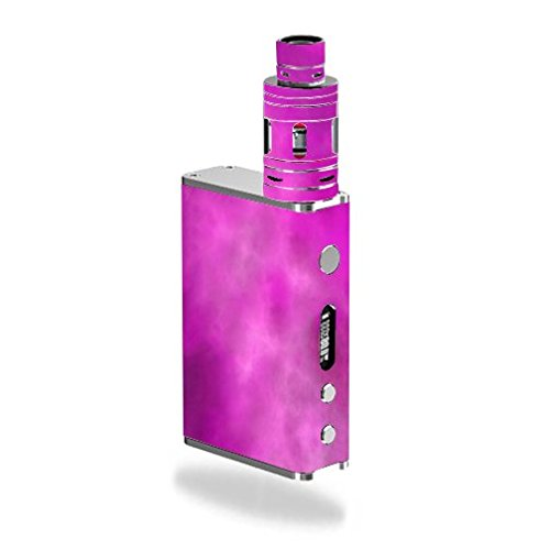 Smok-Micro-ONE-Kit-Vape-E-Cig-Mod-Box-Vinyl-DECAL-STICKER-Skin-Wrap-ONLY-not-actual-vape-or-e-cig-Pink-Hot-Pink-Purple-Smoke-Cloud-Clouds