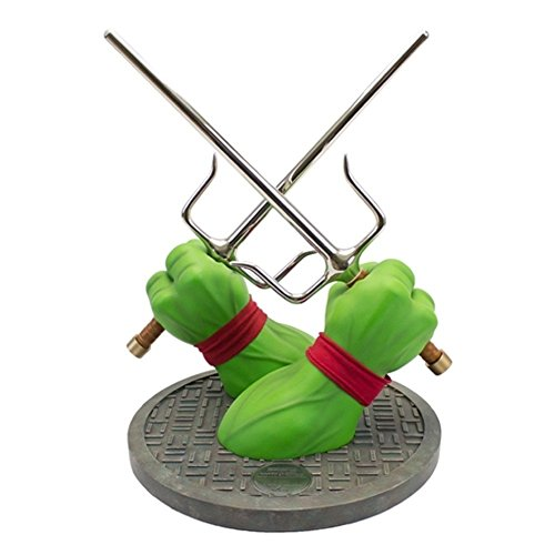 Factory Entertainment Teenage Mutant Ninja Turtles Raphael Sai Limited Edition Prop Replica Statue -