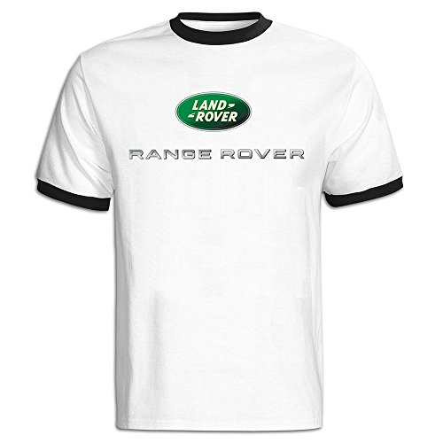 Price comparison product image Men's Range Rover Logo Baseball T Shirt Black