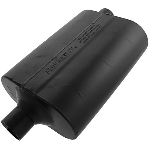 Flowmaster 952462 60 Delta Flow Muffler - 2.25 Center IN / 2.25 Offset OUT - Mild Sound (Cherokee Flowmaster Muffler)