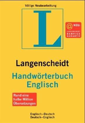 Langenscheidts Handwörterbuch, Englisch