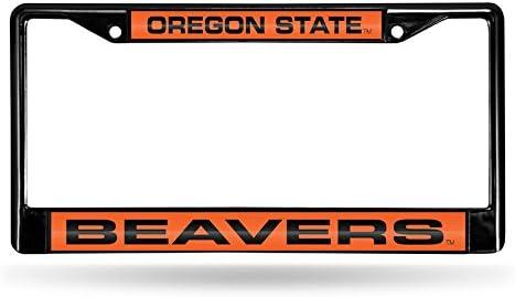 Virginia Cavaliers NCAA Rico Industries  Laser Cut Inlaid Standard Chrome License Plate Frame
