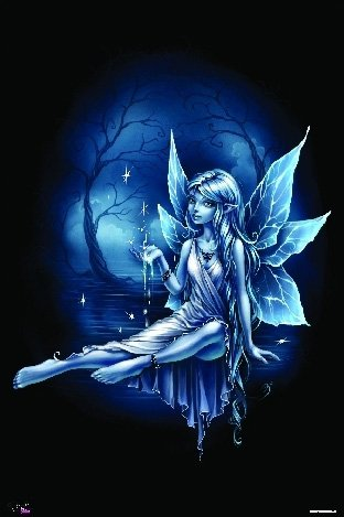 Fairies Poster Water Fairy Rare Hot New