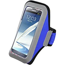 Avarious Neoprene Armband for Alcatel Flash (2017), 5.5-inch, Blue