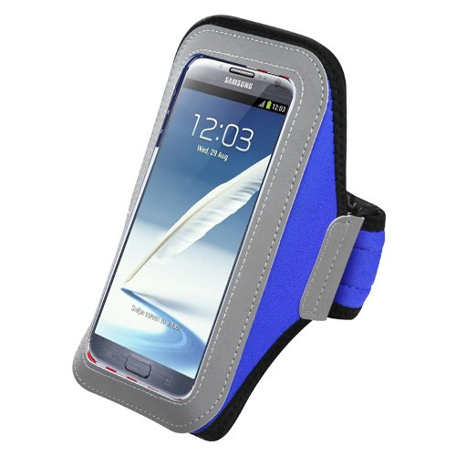 Avarious Sport Workout Armband for HTC 10 Evo (Blue) Evo Elliptical