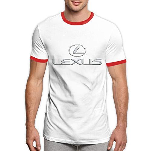 TIANXIN Customized Lexus Logo Shirt O-Neck Pure Cotton for Man Red