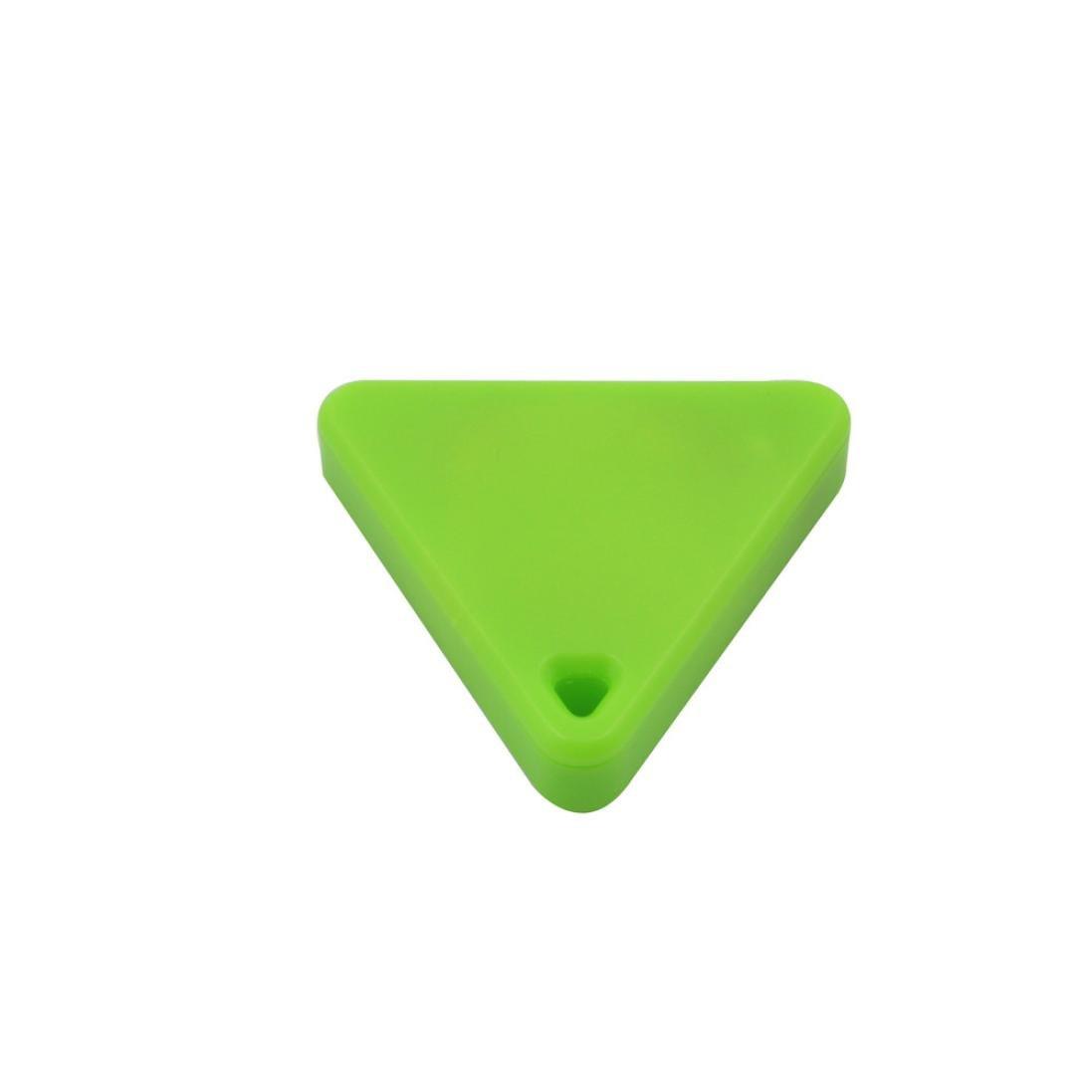 Gotd Bluetooth Mini GPS Tracker Locator Alarm Pet Child Wallet Key Finder (Green)
