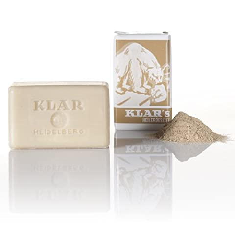 Klar Healing Earth Soap - 100mg/ 3.52 Oz by Klar Seifen (Her Healing Co)