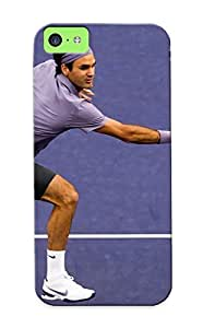 Iphone 5c Roger Federer Print High Quality Tpu Gel Frame Case Cover For New Year's Day wangjiang maoyi