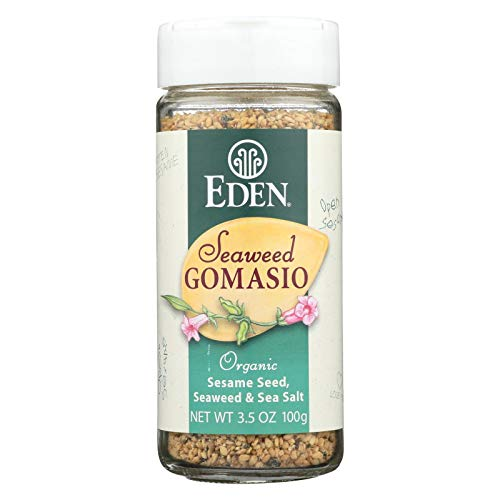 Eden Foods Organic Gomasio - Sesame Salt - Seaweed - 3.5 oz - Case of 3