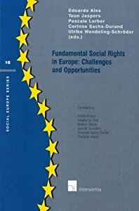 Fundamental Social Rights in Europe: Challenges and Opportunities (Social Europe Series) Edoardo Ales, Teun Jaspers, Pascale Lorber and Corinne Sachs-Durand