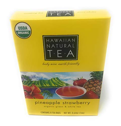 Hawaiian Natural Tea Pineapple Strawberry Tea Bags