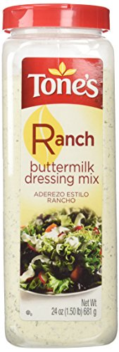 Tone's Buttermilk Ranch Dressing Mix - 24 oz. Large
