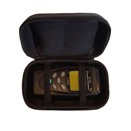 LATNEX MG-300 Gauss and Magnetic Field Meter with Protection Boot & Black EVA Carrying Case by LATNEX ®